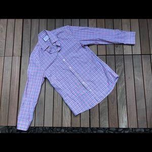 CHARLES TYRWHITT Button Down Dress Shirt Slim Fit